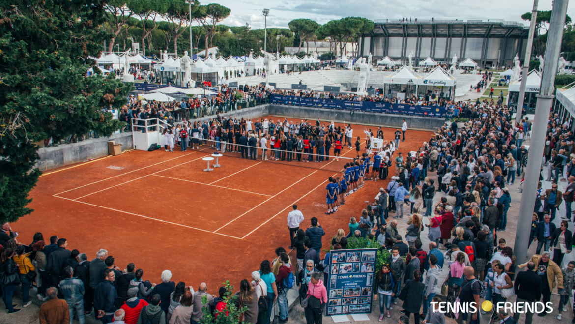 Tennis & Friends e l'evento di Roma 2018