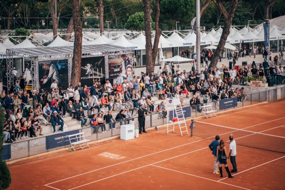 tennis and friends roma 2019 campo e medicine specialistiche