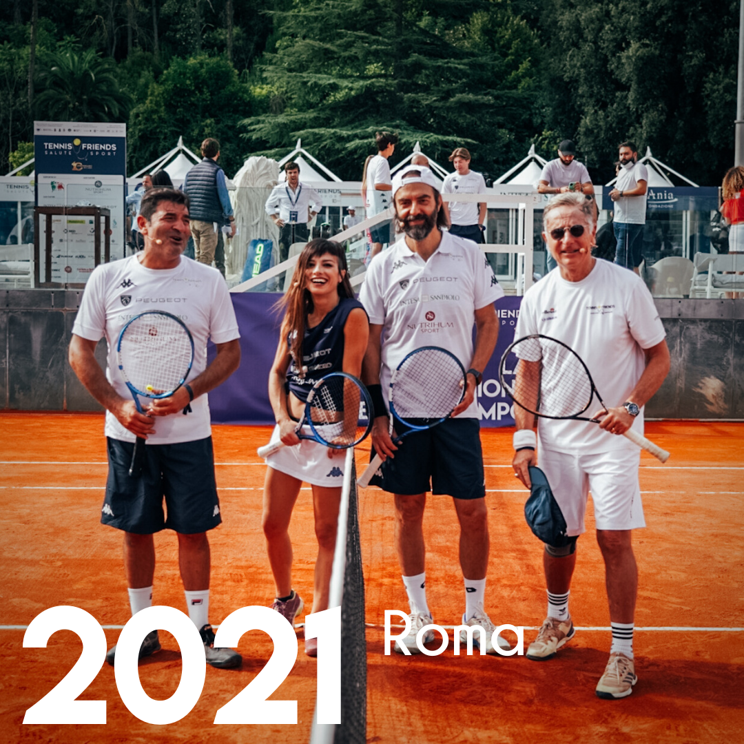 tennis and friends roma 2021